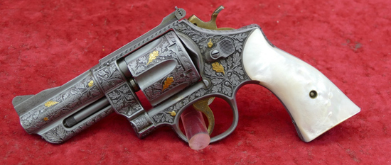 Master Engraved Smith & Wesson Pre 27 Revolver