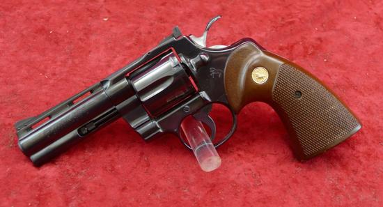 "Colt Python w/4"" bbl."