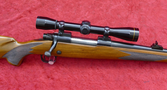 Winchester Model 70 Mannlicher Rifle