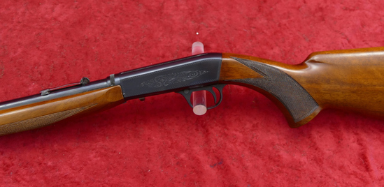 Belgium Browning 22 Take Down Rifle w/Wheel Sight