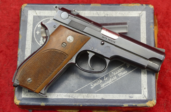 Early Smith & Wesson Model 39 w/Steel Slide
