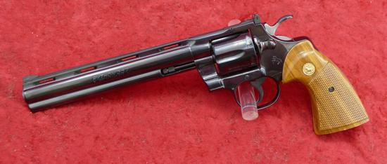 """Colt Python 357 Magnum Revolver w/8"""" bbl."""