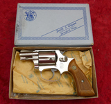 Smith & Wesson Model 37 Air Weight Revolver