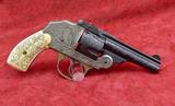 Custom Engraved Iver Johnson Safety Revolver