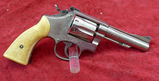 Engraved S&W 38 Special Revolver