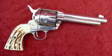 Great Western 22 cal Nickel Plated Singe Action