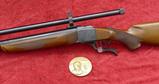 Ruger No 1 Comm. Lyman 45-70 Single Shot Rifle