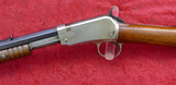 Rare Nickel Rec. Win. 1890 22 Short Gallery Rifle