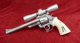 S&W Model 629 SS 44 Mag w/Scope & Custom Grips