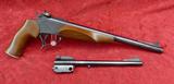 Thompson Center Contender 2 bbl Pistol Set