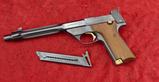 High Standard Supermatic Trophy Pistol
