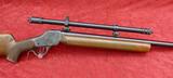 Custom High Wall Winchester 17 ACKLEY cal w/Scope