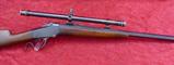 Winchester 1885 Lo Wall Rifle w/Winchester scope
