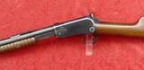 Fine Winchester Model 1906 22 Pump Action Rifle