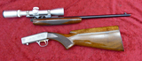 Belgium Browning Grade II Take Down Rifle w/Scope