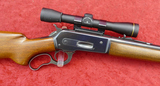 Winchester 71 348 WCF Rifle w/side Mount Scope