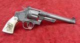 Custom Engraved Teddy Roosevelt S&W Revolver