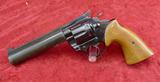 Custom Colt 38 Spec Target Revolver