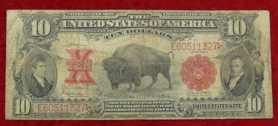 US 1901 Series $10 Blanket Bill