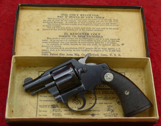 Rare Colt Bankers Special 38 Revolver