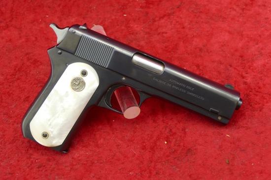 Colt Model 1903 38 cal Hammered Pocket Pistol