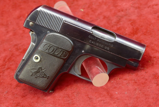 Early Colt Model 1908 25ACP Pocket Pistol