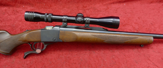Ruger No 1 270 cal Rifle w/Scope