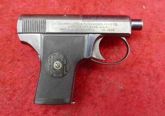 Rare H&R 25 cal Self Loading Pistol