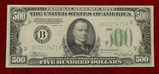 1934 Series US $500 Bill