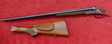 Merkel Model 8 12 ga Shotgun w/Damaged Stock