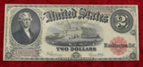 US 1917 $2 Blanket Bill