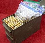 Approx 430 rds of 8mm clean Surplus Ammo in can(F)