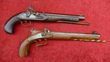 Pair of Replica Black Powder Plains Pistols
