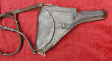 Swiss Luger Holster & Shoulder Strap