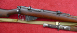 British Mark III Military Rifle & Bayonet