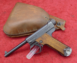 Late War Japanese Type 14 Nambu Pistol w/Holster