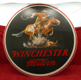 2 Sided Metal Winchester Western Sign