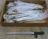 Large lot Surplus Take Off SKS Folding Bayonets