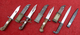 Lot of Russian Cold War Era Bayonets
