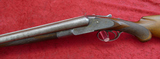 Antique Lefever H 12 ga Dbl Bbl Shotgun
