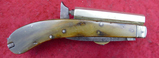 Early English William Jackson 32 cal Pistol Knife