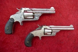 Pair of Antique S&W Top Break Revolvers