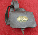 US Union Cartridge Box & Strap