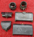 Lot of Civil War & Indian War Accoutrements