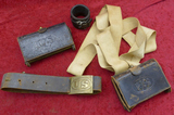 Lot of US Marked Indian War Era Accoutrements