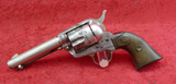 Early Colt Single Action 32 cal Nickel Finish Rev.