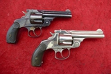 Pair of Antique S&W 38 Dbl Action Revolvers