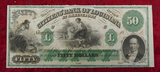 Bank of Louisiana $50 Note
