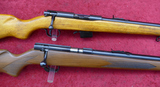 Pair of Winchester Late Production Bolt Action 22s