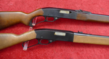 Pair of Winchester Late Production LA 22 Rifles